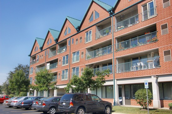 Front View photograph of 1111 Burlington Ave Unit 314 Lisle Illinois 60532
