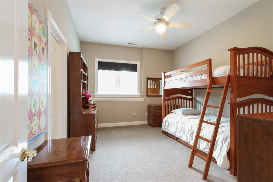 Real Estate Photography - 200 S Green St, McHenry, IL, 60050 - 3rd Bedroom