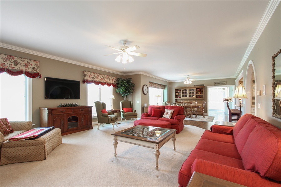 Real Estate Photography - 200 S Green St, McHenry, IL, 60050 - Living Room