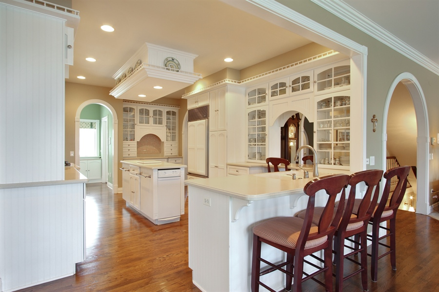 Real Estate Photography - 200 S Green St, McHenry, IL, 60050 - Kitchen