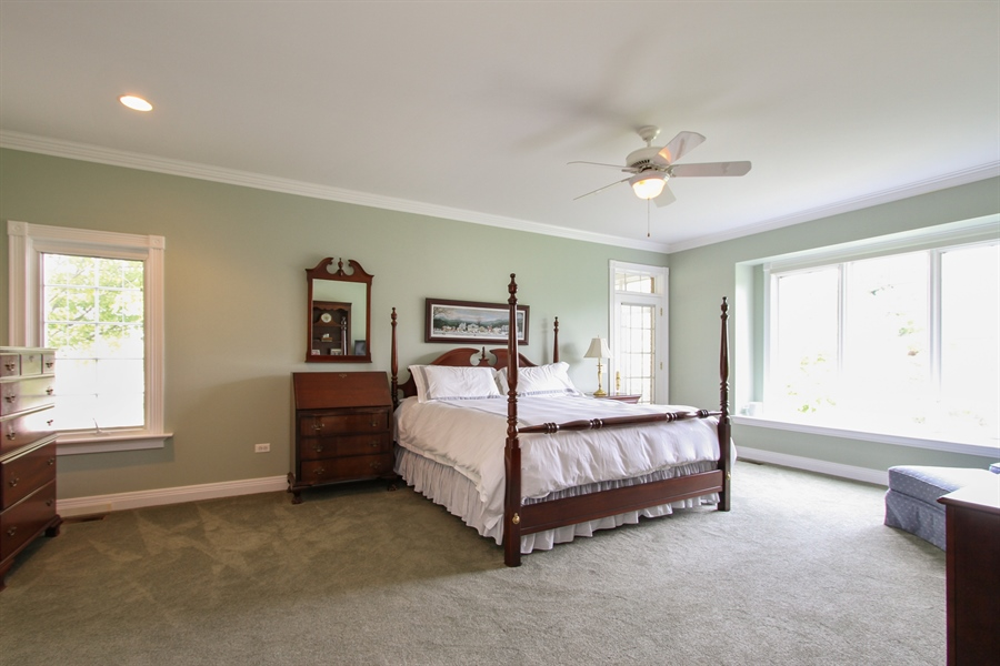 Real Estate Photography - 200 S Green St, McHenry, IL, 60050 - Master Bedroom
