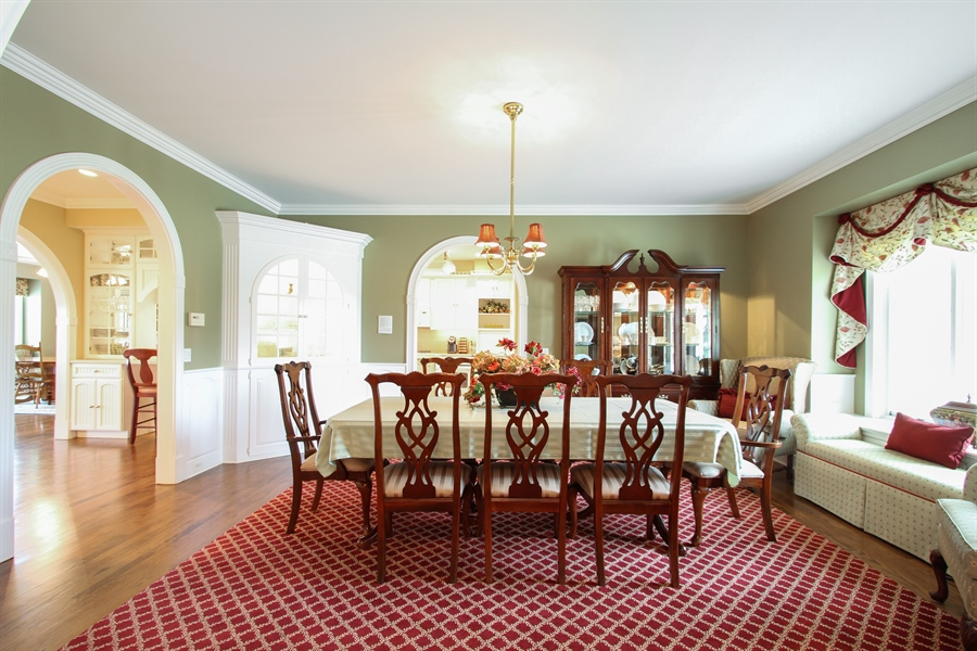 Real Estate Photography - 200 S Green St, McHenry, IL, 60050 - Dining Room