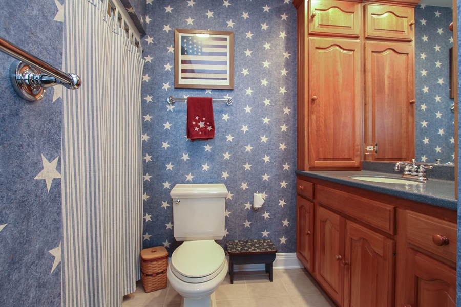 Real Estate Photography - 200 S Green St, McHenry, IL, 60050 - Bathroom