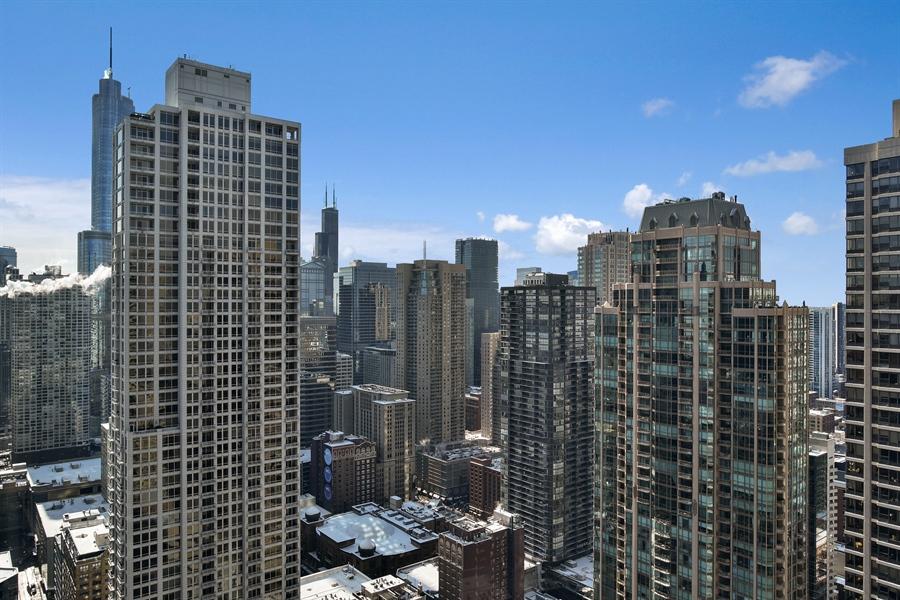 Real Estate Photography - 100 E Huron, 3701, Chicago, IL, 60601 - View