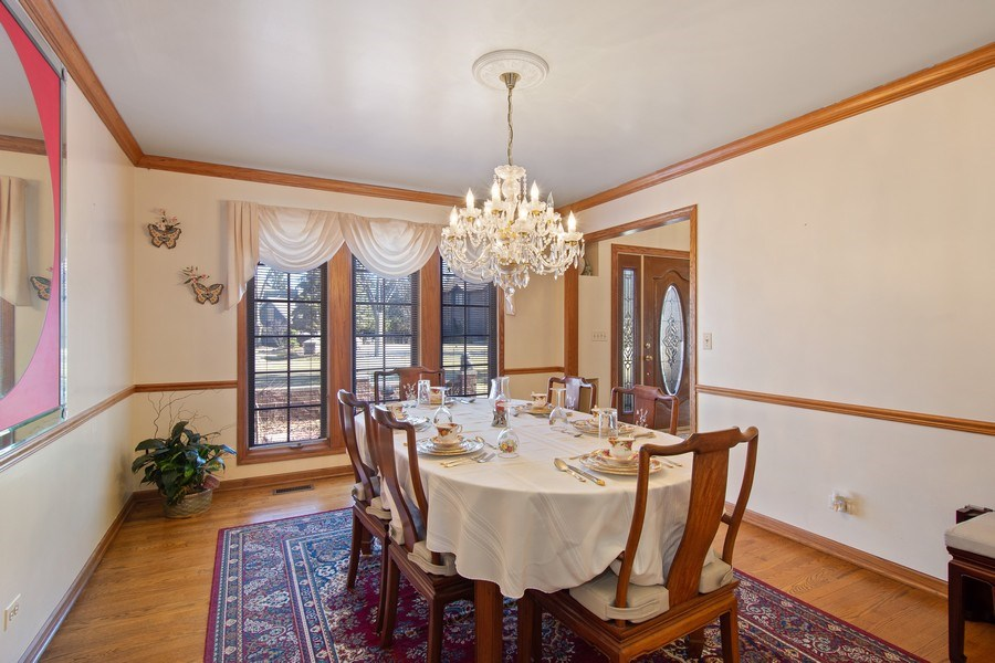 Real Estate Photography - 349 W Whispering Pines Ct, Inverness, IL, 60010 - Dining Room