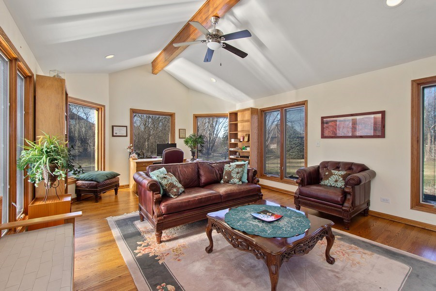 Real Estate Photography - 349 W Whispering Pines Ct, Inverness, IL, 60010 - Sun Room