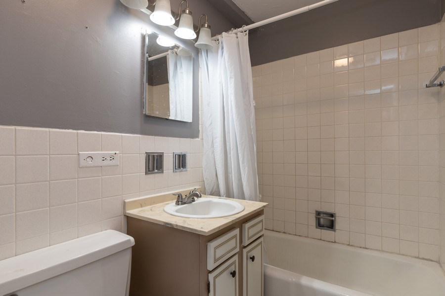 Real Estate Photography - 4281 W 76th St, Unit 204C, Chicago, IL, 60652 - Master Bathroom