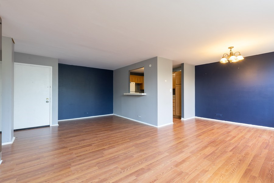 Real Estate Photography - 4281 W 76th St, Unit 204C, Chicago, IL, 60652 - Living Room