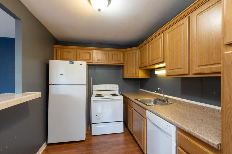 Real Estate Photography - 4281 W 76th St, Unit 204C, Chicago, IL, 60652 - Kitchen