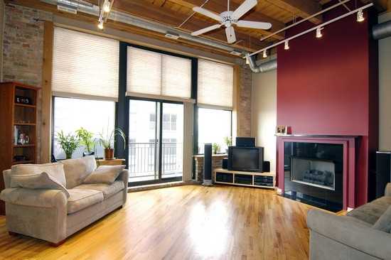 Real Estate Photography - 616 W Fulton, Unit 505, Chicago, IL, 60661 - Living Room