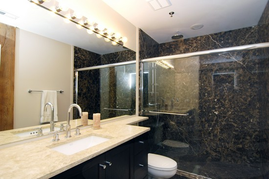 Real Estate Photography - 616 W Fulton, Unit 505, Chicago, IL, 60661 - Master Bathroom