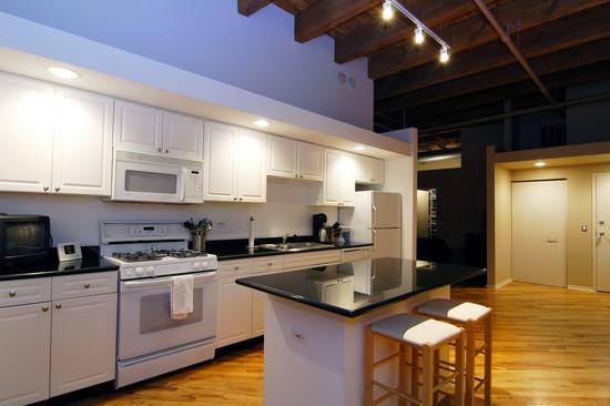 Real Estate Photography - 616 W Fulton, Unit 505, Chicago, IL, 60661 - Kitchen