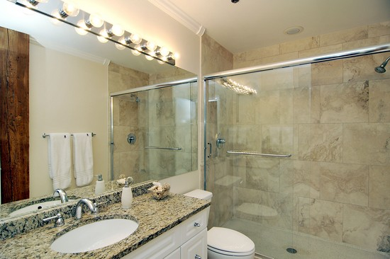Real Estate Photography - 616 W Fulton, Unit 203, Chicago, IL, 60610 - Master Bathroom