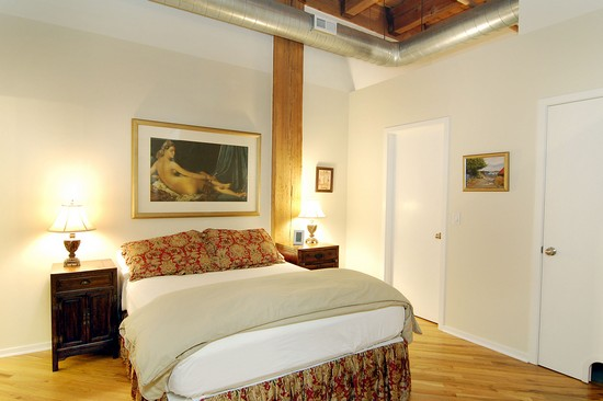 Real Estate Photography - 616 W Fulton, Unit 203, Chicago, IL, 60610 - Master Bedroom