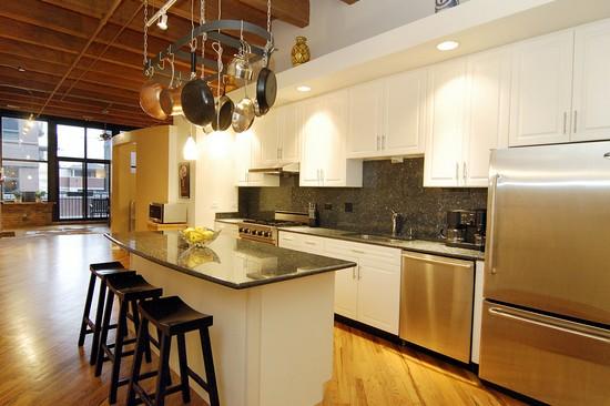 Real Estate Photography - 616 W Fulton, Unit 203, Chicago, IL, 60610 - Kitchen