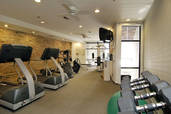 Real Estate Photography - 616 W Fulton, Unit 203, Chicago, IL, 60610 - Exercise Room