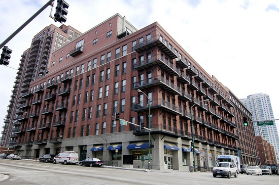 Real Estate Photography - 616 W Fulton, Unit 203, Chicago, IL, 60610 - Front View
