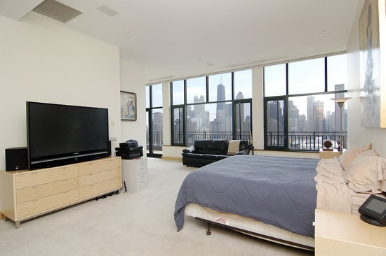 Real Estate Photography - 400 W Ontario St, Penthouse, Chicago, IL, 60610 - Master Bedroom