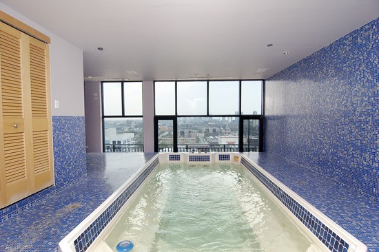 Real Estate Photography - 400 W Ontario St, Penthouse, Chicago, IL, 60610 - Pool