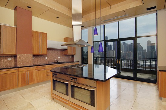 Real Estate Photography - 400 W Ontario St, Penthouse, Chicago, IL, 60610 - Kitchen