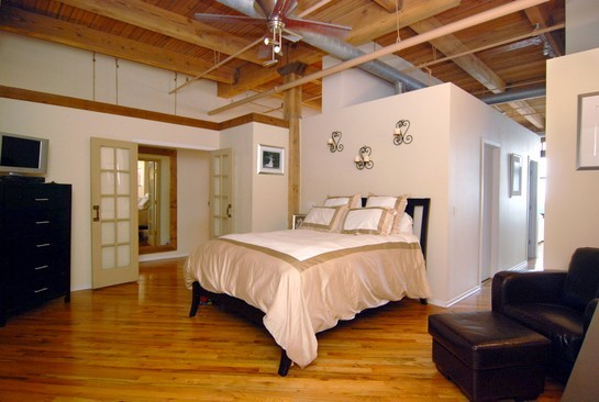 Real Estate Photography - 616 W Fulton St, Unit 510, Chicago, IL, 60661 - Master Bedroom
