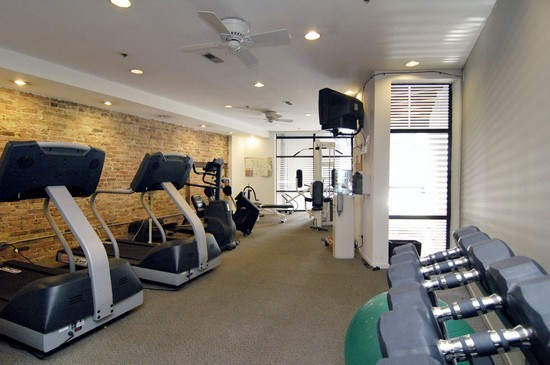 Real Estate Photography - 616 W Fulton St, Unit 510, Chicago, IL, 60661 - Exercise Room