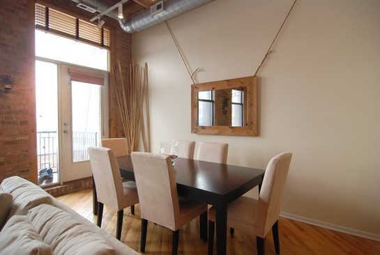 Real Estate Photography - 616 W Fulton St, Unit 510, Chicago, IL, 60661 - Dining Room