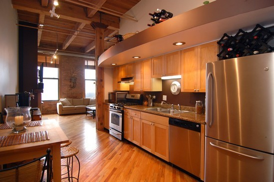 Real Estate Photography - 616 W Fulton St, Unit 510, Chicago, IL, 60661 - Kitchen
