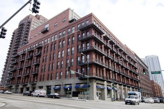 Real Estate Photography - 616 W Fulton St, Unit 510, Chicago, IL, 60661 - Front View