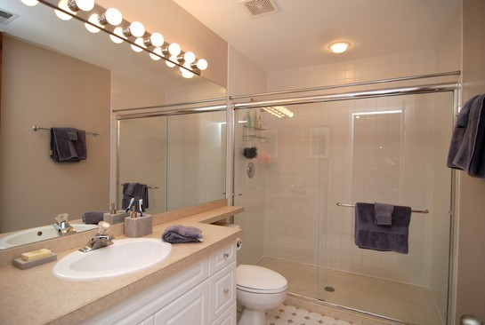 Real Estate Photography - 616 W Fulton St, Unit 405, Chicago, IL, 60661 - Master Bathroom