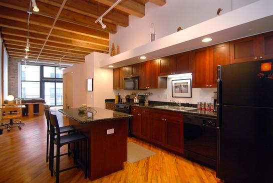 Real Estate Photography - 616 W Fulton St, Unit 405, Chicago, IL, 60661 - Kitchen