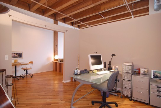 Real Estate Photography - 616 W Fulton St, Unit 405, Chicago, IL, 60661 - Office