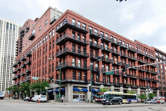 Real Estate Photography - 616 W Fulton, Unit 715, Chicago, IL, 60661 - Front View