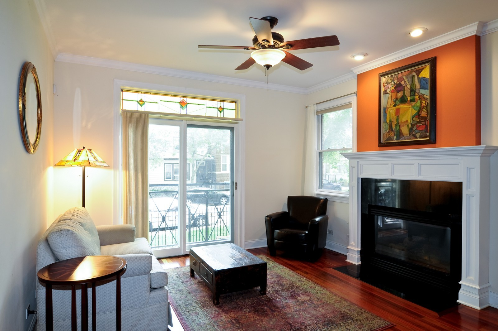 Real Estate Photography - 1514 W Victoria, Unit 1, Chicago, IL, 60660 - Living Room
