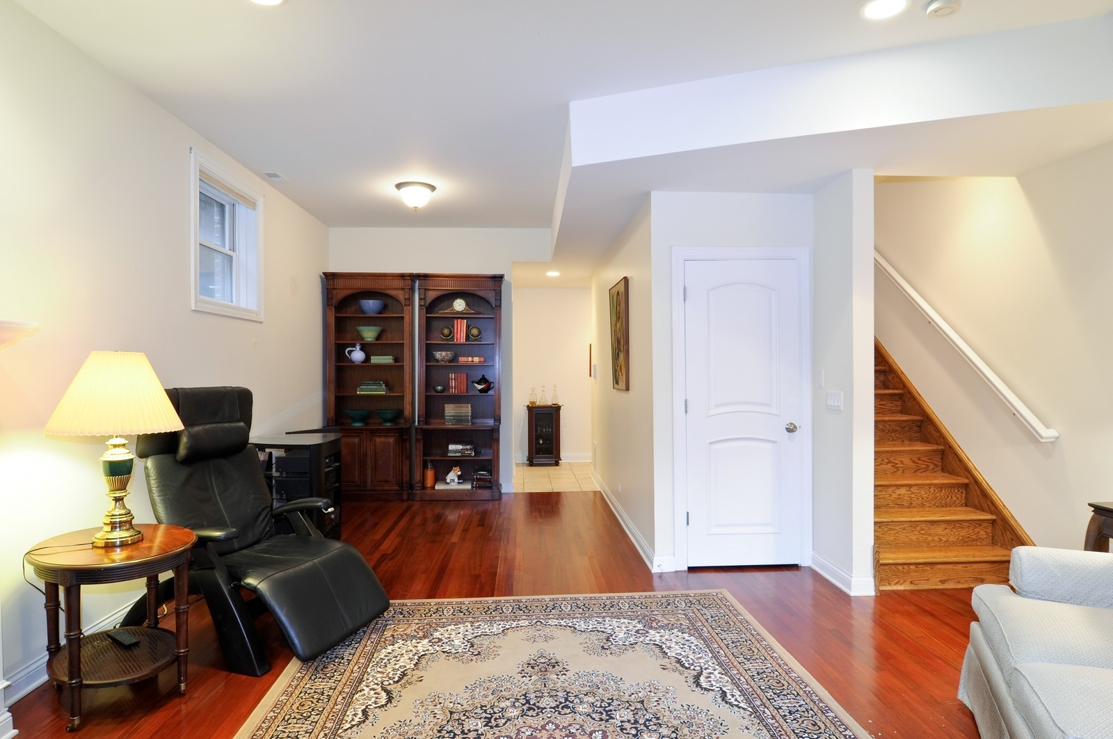 Real Estate Photography - 1514 W Victoria, Unit 1, Chicago, IL, 60660 - Family Room