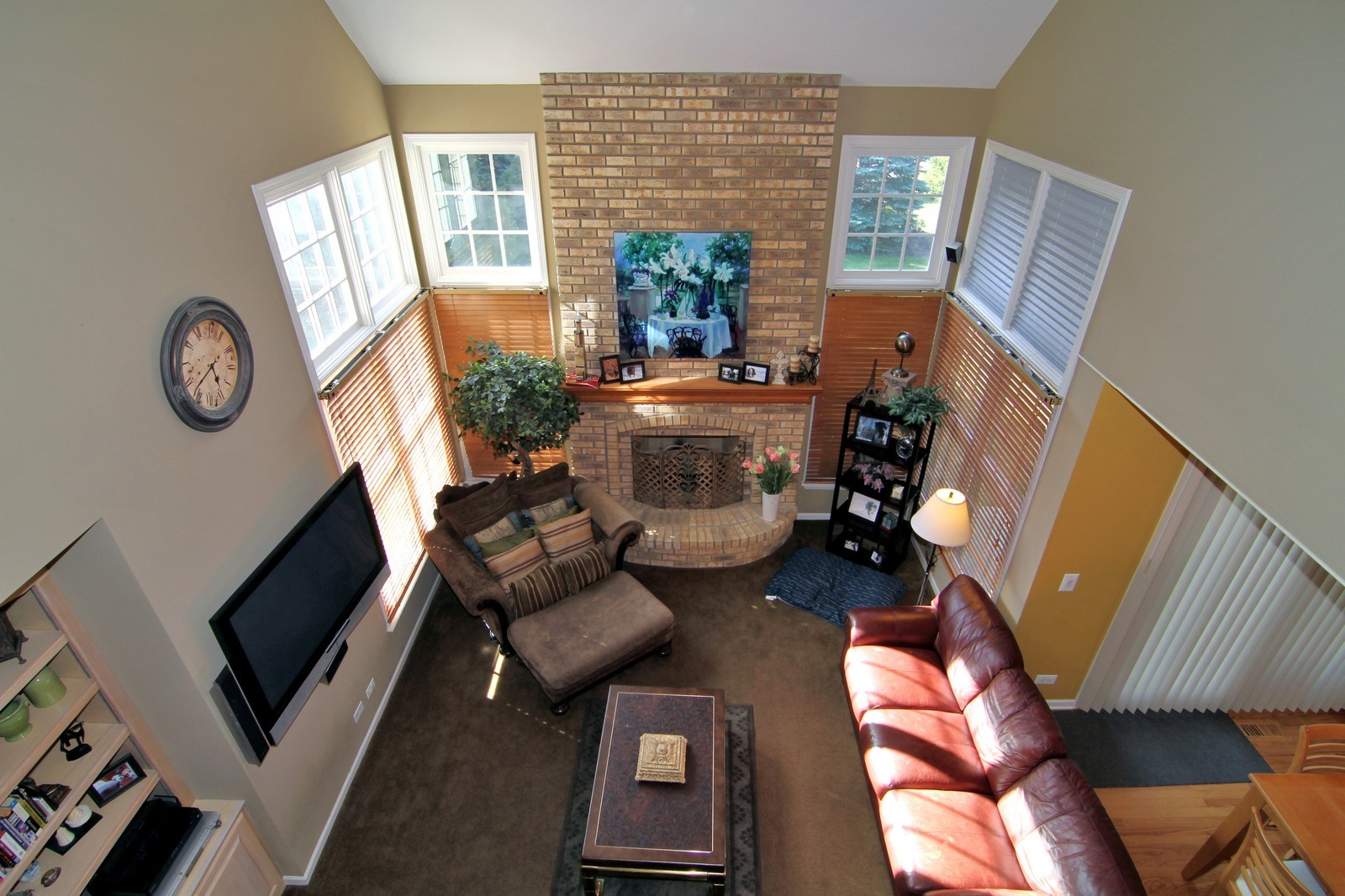 Real Estate Photography - 3801 King Richard Ct, St Charles, IL, 60174 - Loft View A