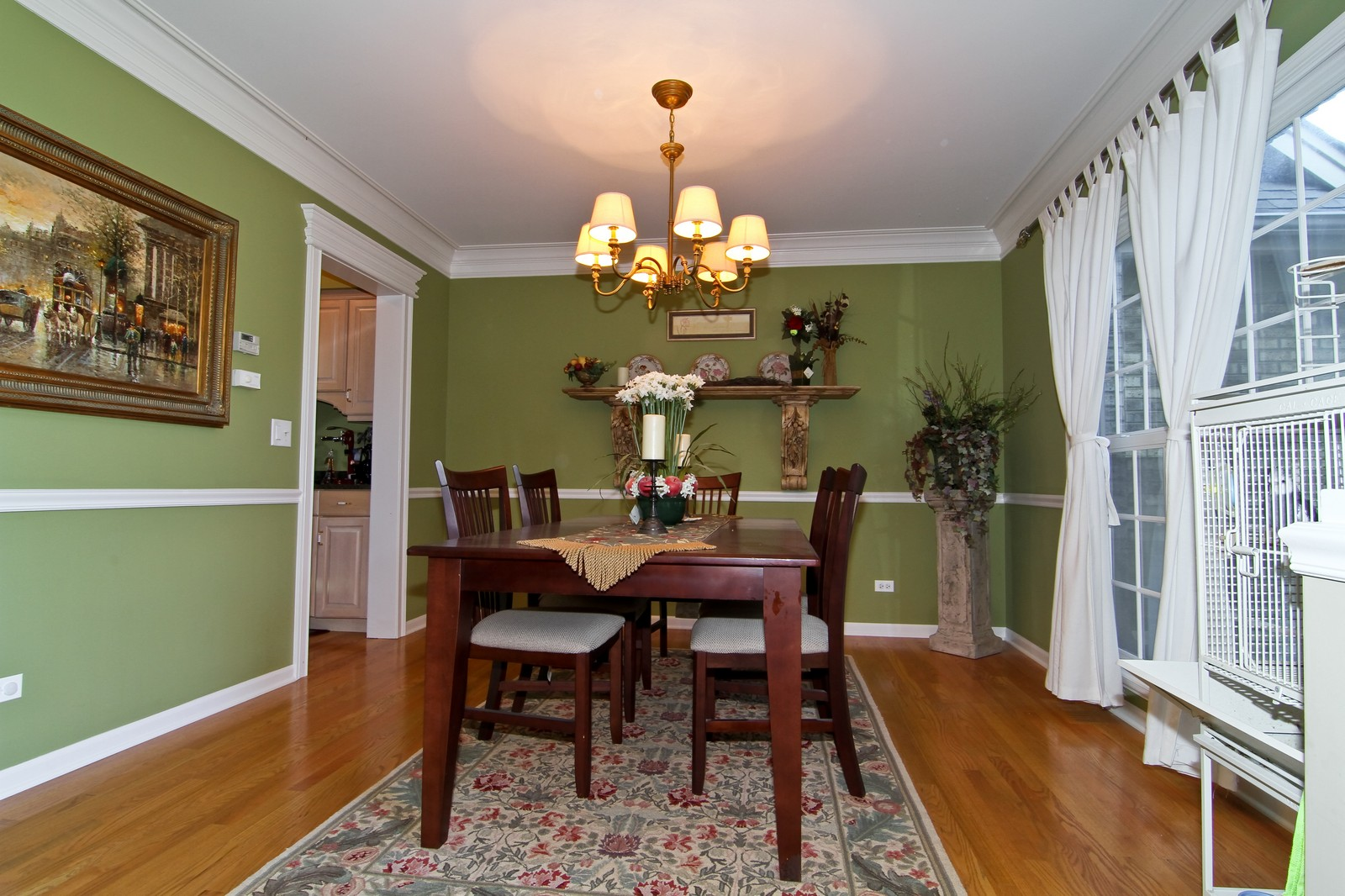 Real Estate Photography - 3801 King Richard Ct, St Charles, IL, 60174 - Dining Room