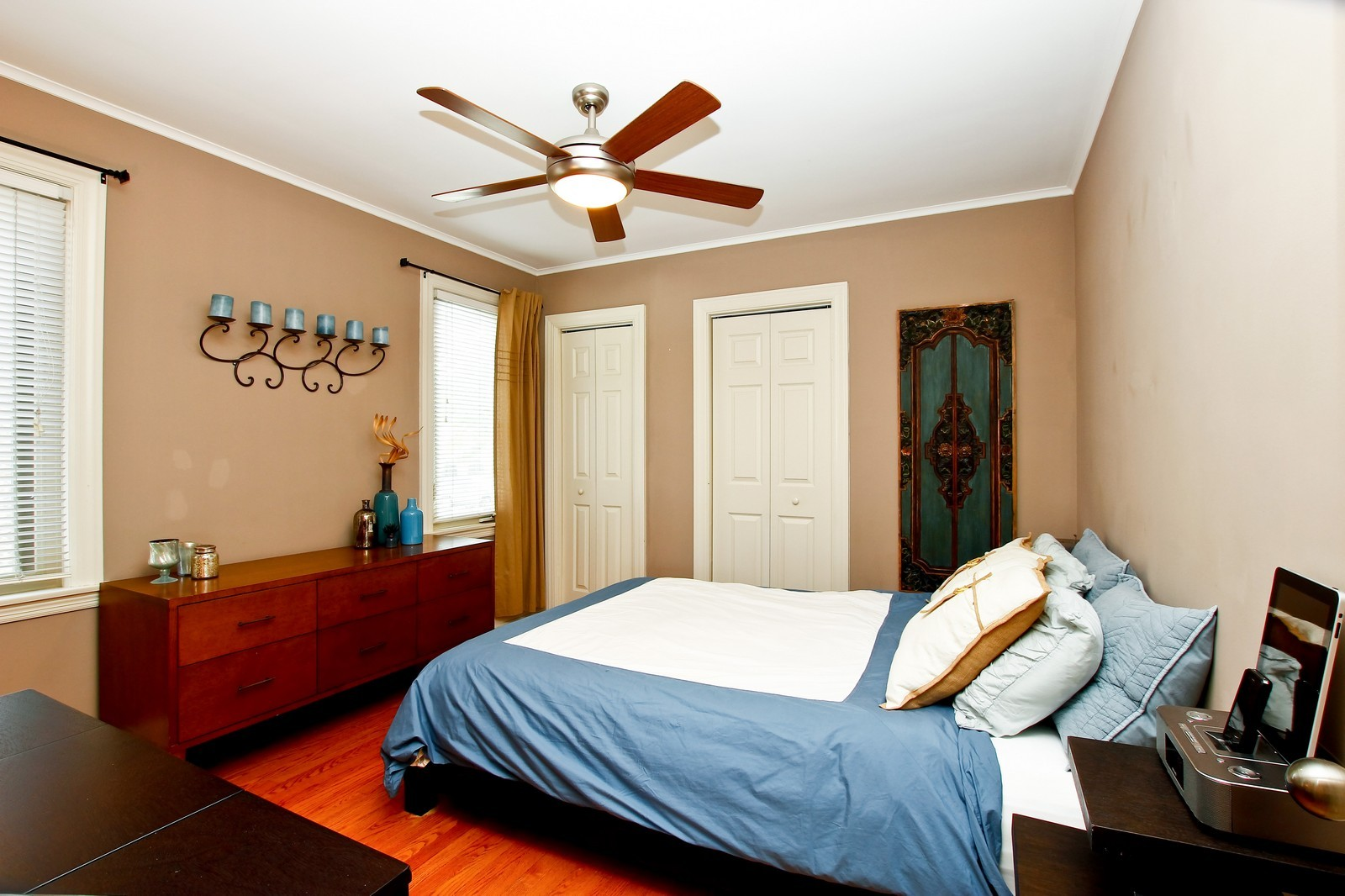 Real Estate Photography - 5535 S Oak Park Ave, Chicago, IL, 60638 - Master Bedroom