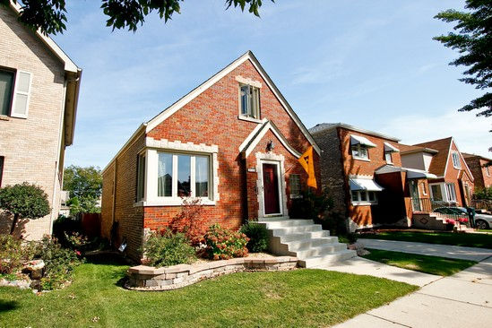 Real Estate Photography - 5535 S Oak Park Ave, Chicago, IL, 60638 - Front View