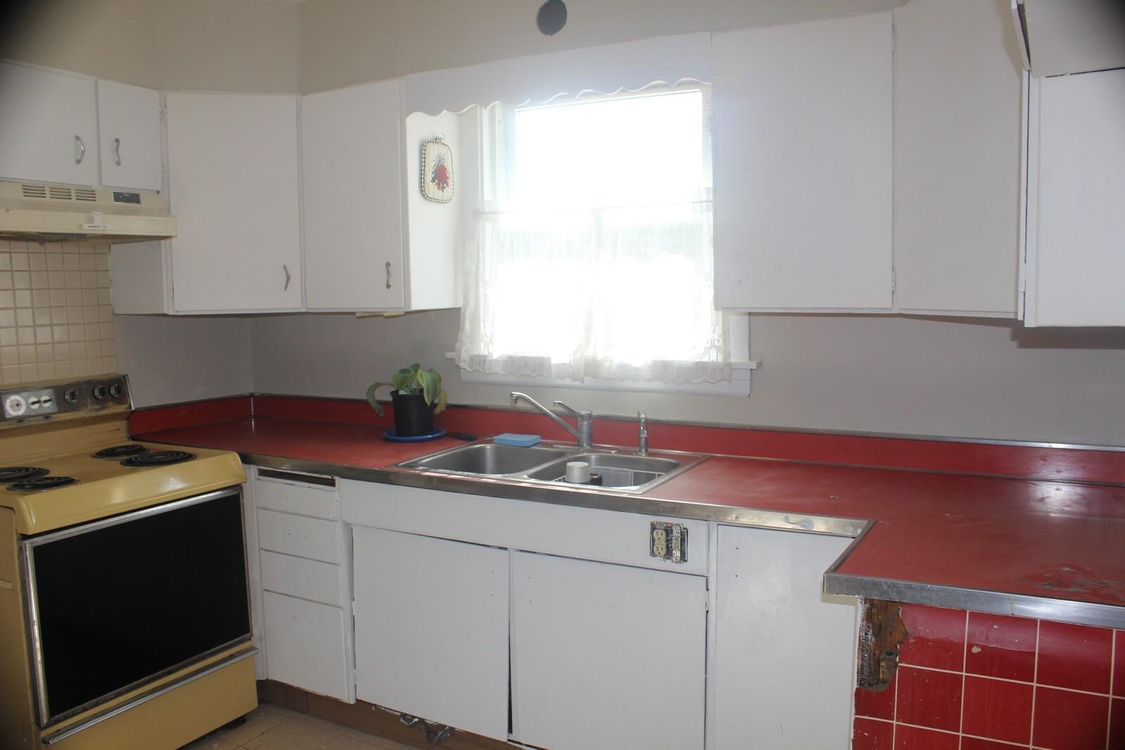 Real Estate Photography - 9131 Marion, Morton Grove, IL, 60053 - Kitchen