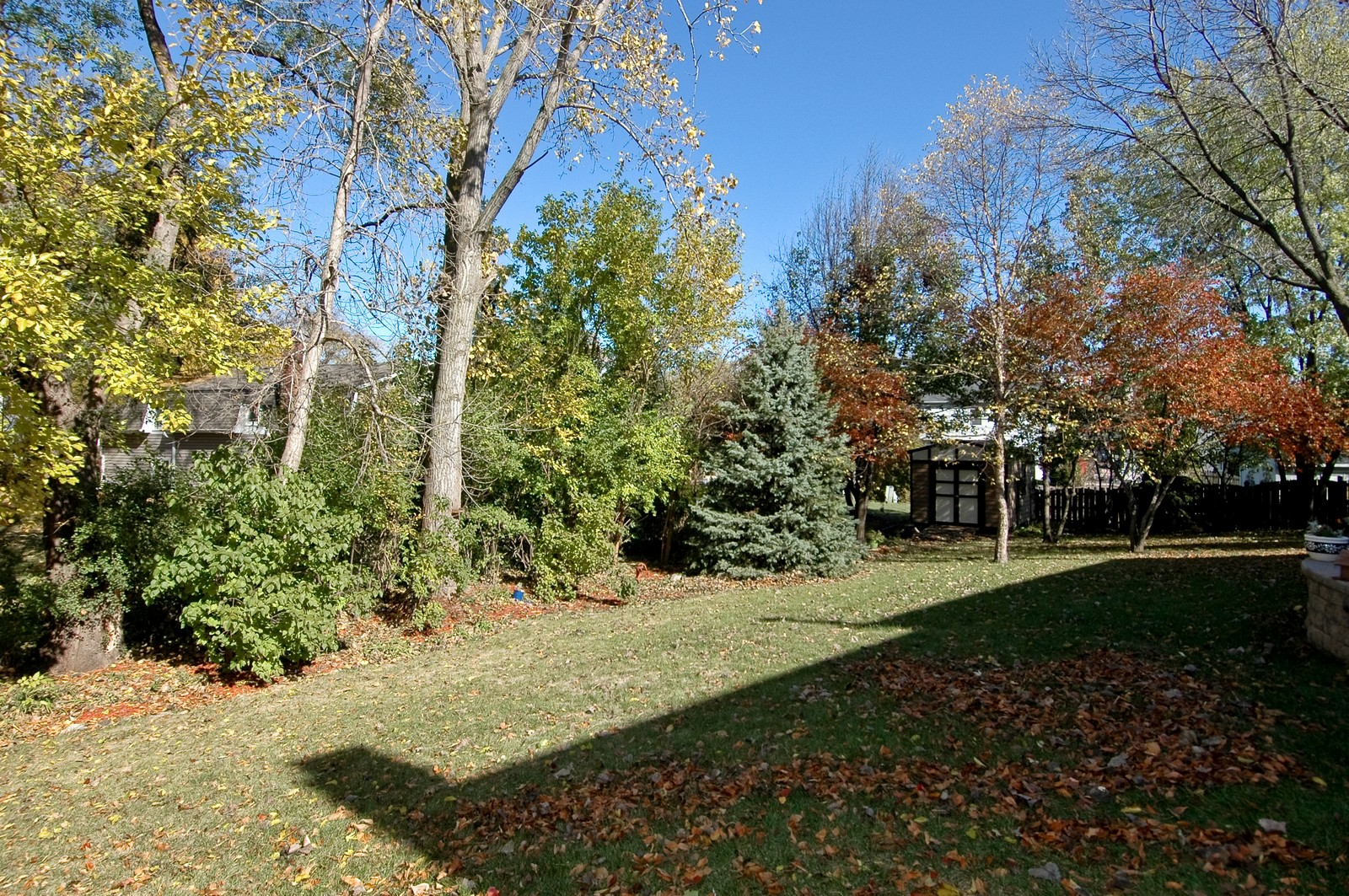 Real Estate Photography - 6 Crofton, Cary, IL, 60013 - Backyard w/Shed