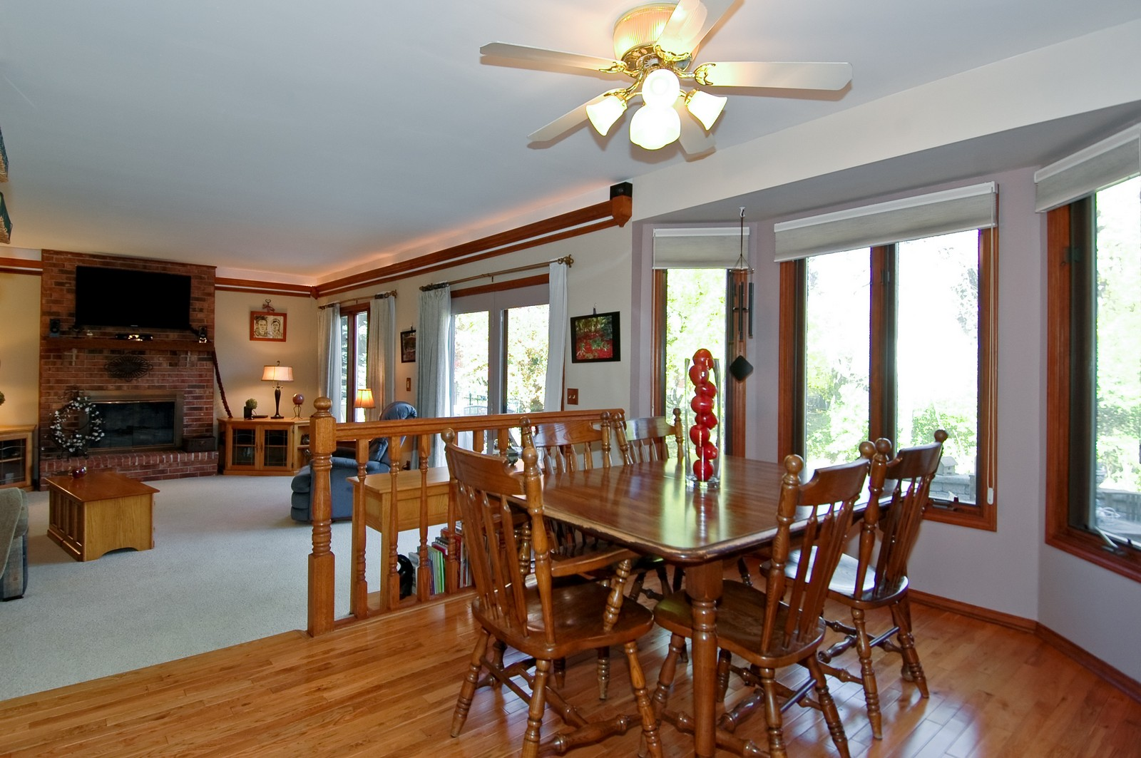 Real Estate Photography - 6 Crofton, Cary, IL, 60013 - Family Room / Kitchen