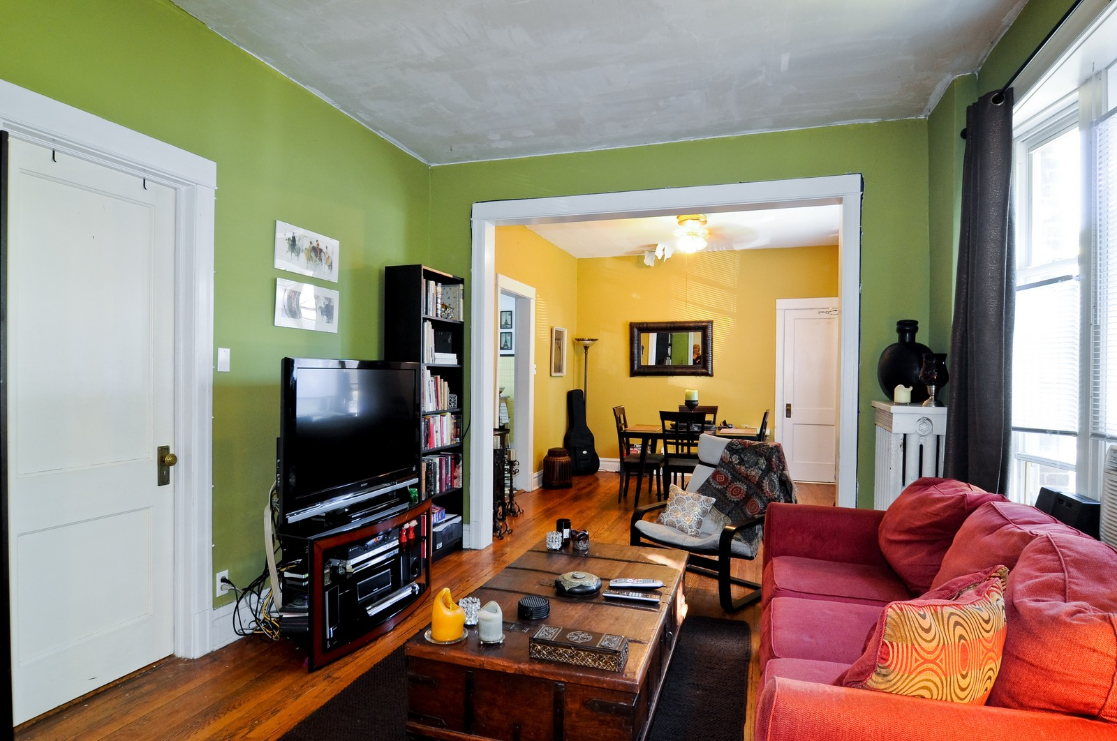 Real Estate Photography - 3534 W Wrightwood, Chicago, IL, 60614 - Living Room