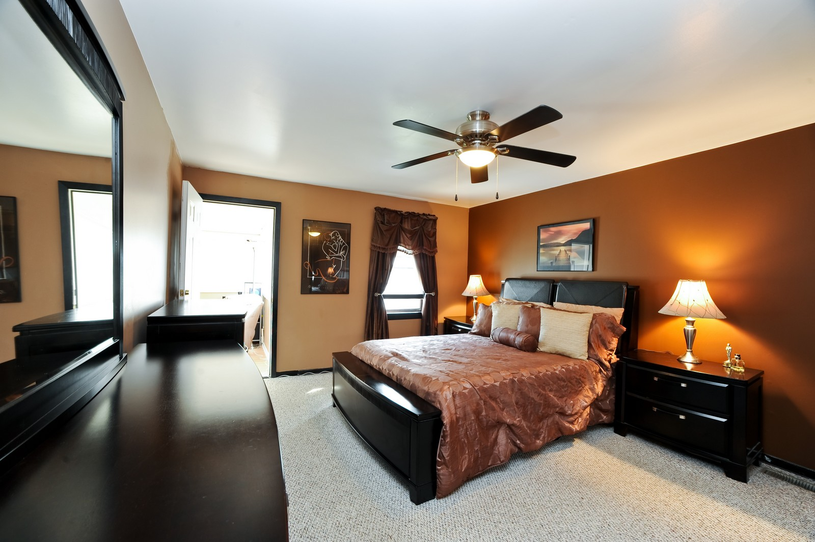 Real Estate Photography - 1837 Ashland Ave, Evanston, IL, 60201 - Master Bedroom