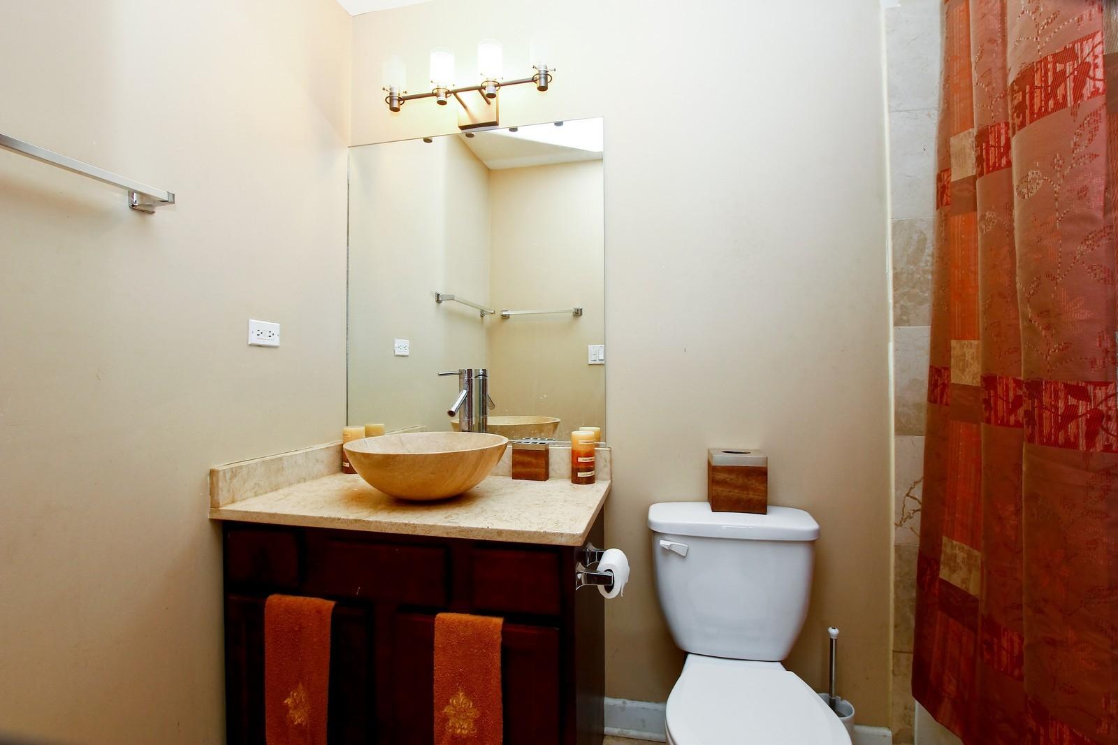 Real Estate Photography - 4325 S Vernon, Chicago, IL, 60653 - Master Bathroom