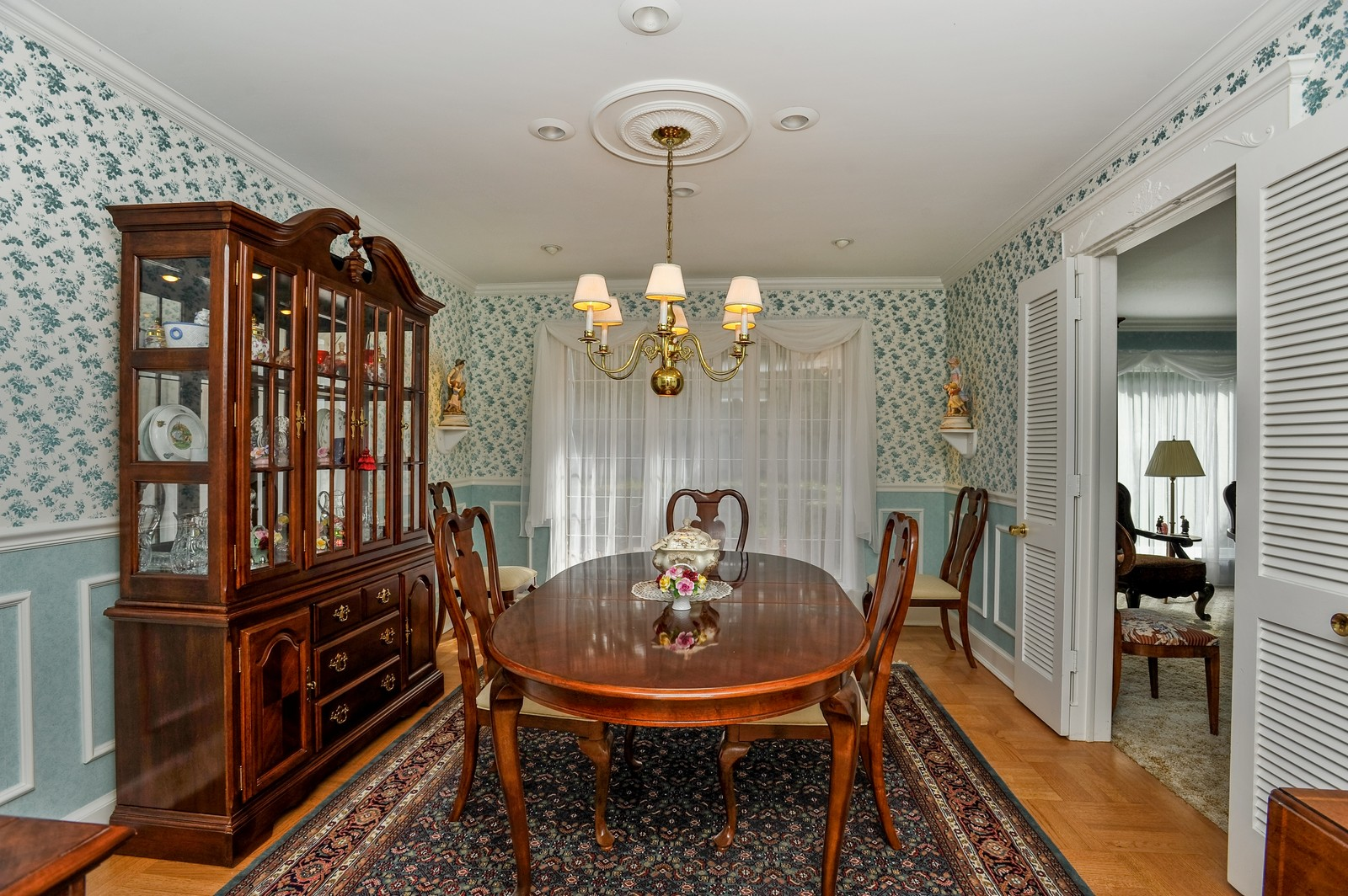 Real Estate Photography - 305 Sunset Dr, Northfield, IL, 60093 - Dining Room
