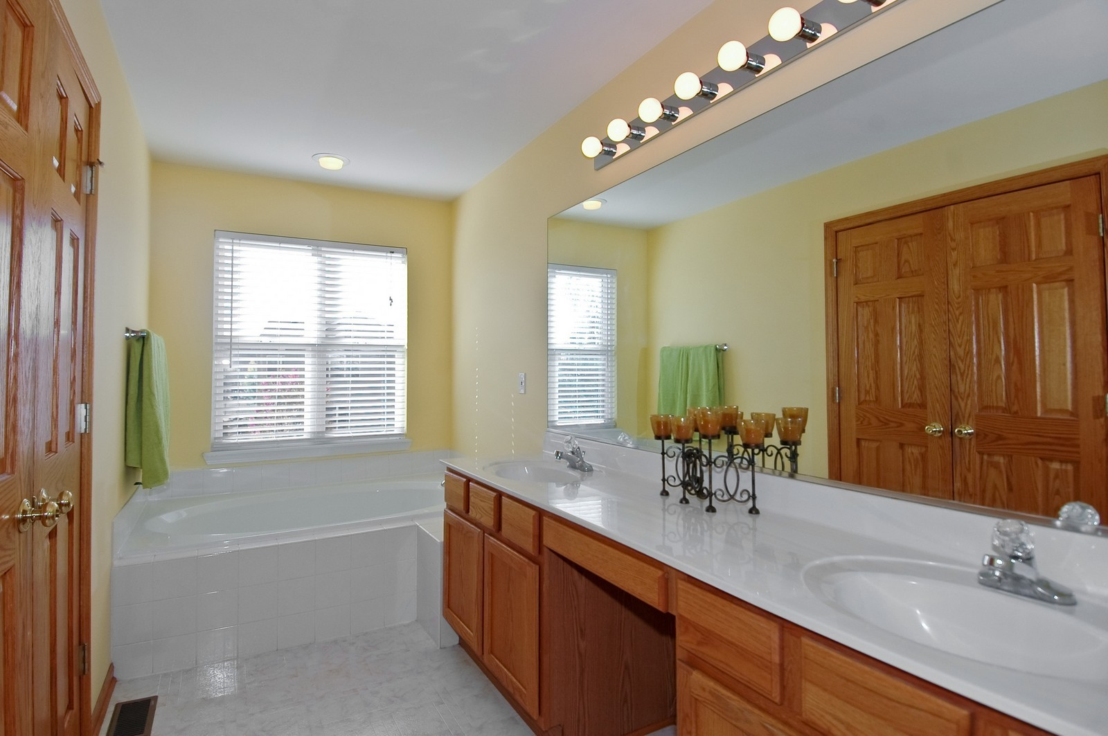 Real Estate Photography - 1353 Boxwood, Crystal Lake, IL, 60014 - Master Bathroom