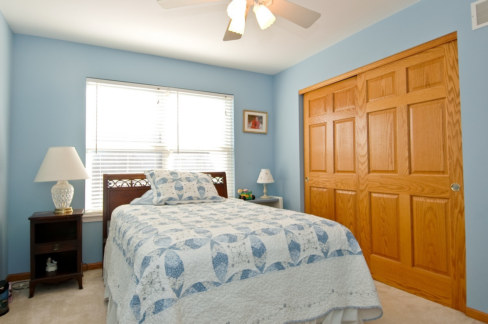 Real Estate Photography - 1353 Boxwood, Crystal Lake, IL, 60014 - 2nd Bedroom