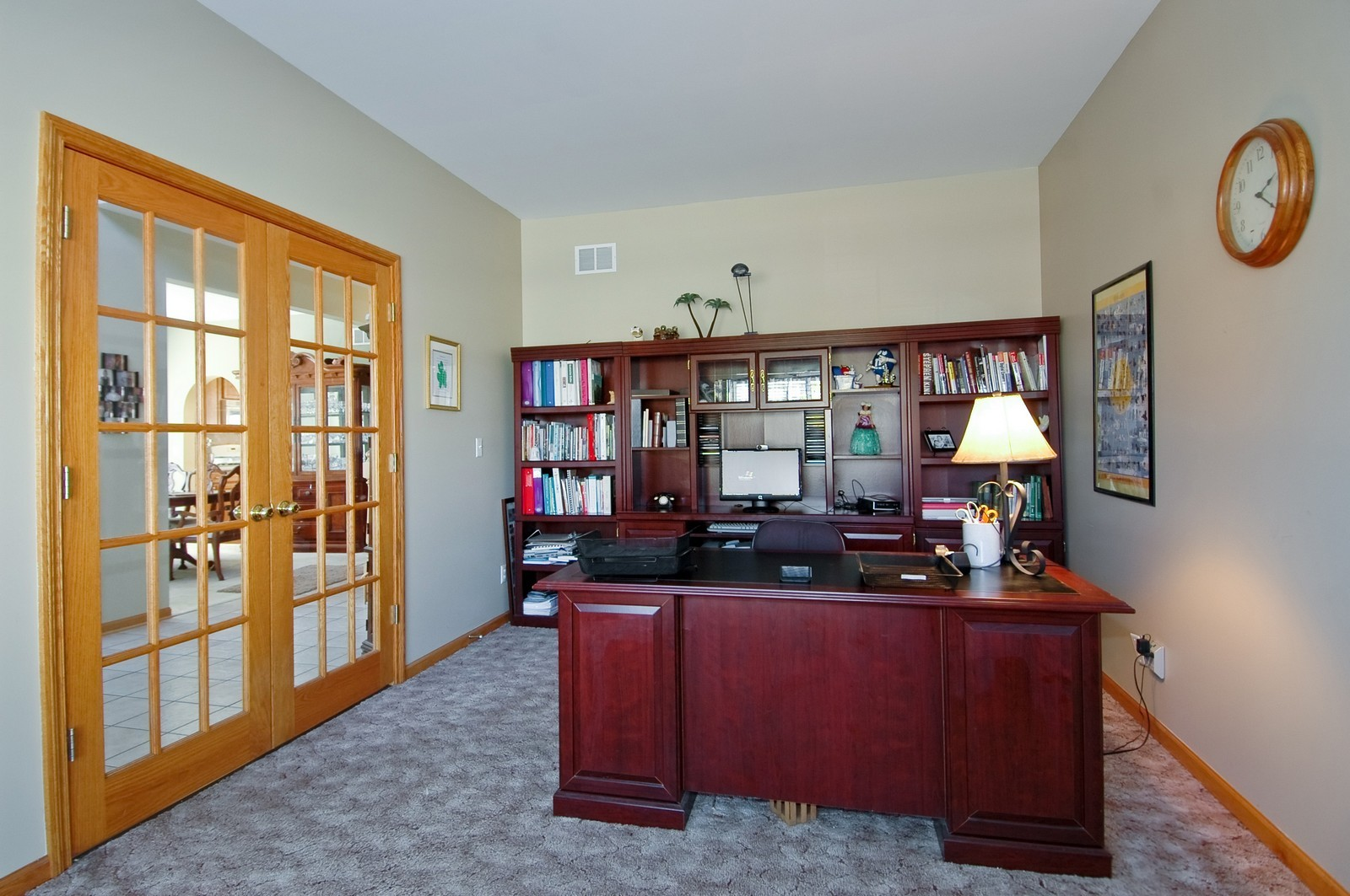 Real Estate Photography - 1353 Boxwood, Crystal Lake, IL, 60014 - Den
