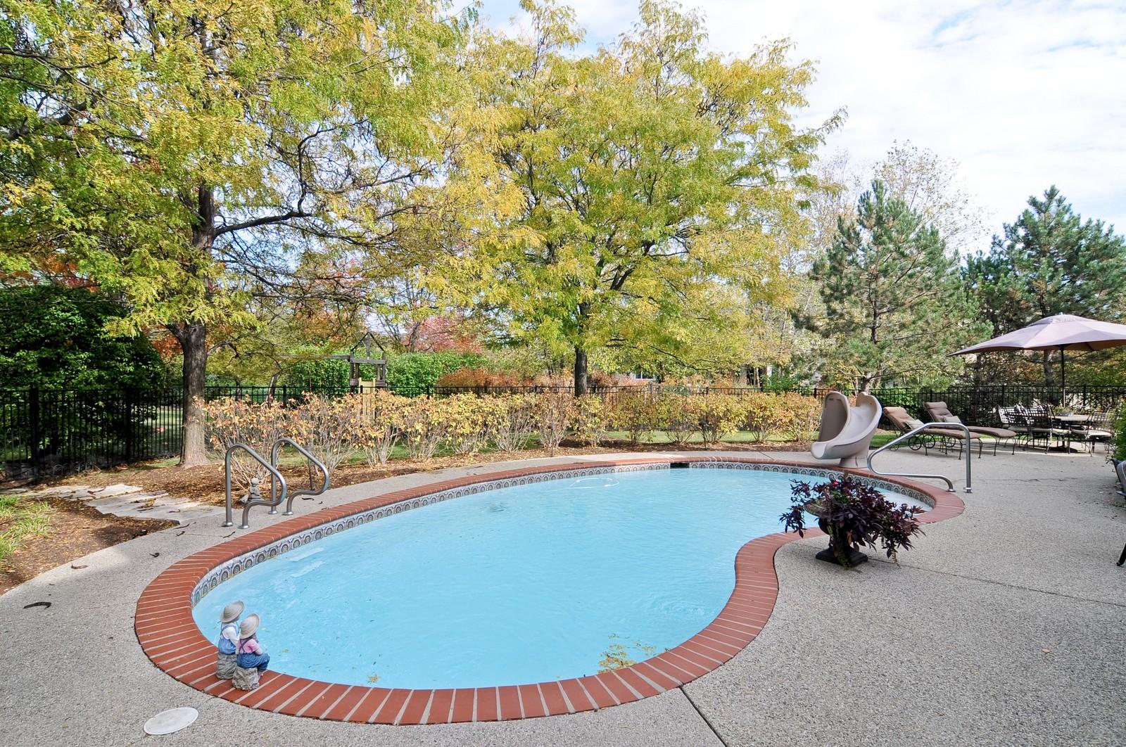 Real Estate Photography - 2091 Trenton, Libertyville, IL, 60048 - Pool